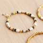 Make a beautiful summer jewellery set with these natural stone discs beads: