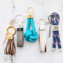 Mix and Match keychain inspiration with DQ European leather and marine cord