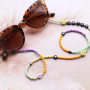 Get started and make trendy necklaces and sunglasses cords with the glass seed beads