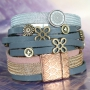 Wow!! Create these stylish Designer Quality metal bracelets with Designer Quality metal net cord