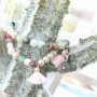 The summer colours of our natural stone beads are just perfect for summer jewellery with a modern look!