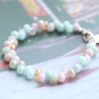 These sweet jewellery can made easily with our new colours glass beads