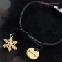 Pretty Christmas jewellery with beads, DQ leather, DQ metal, stainless steel and ImpressArt