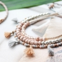 Subtle, minimalistic and summer inspiration with new glass seed beads