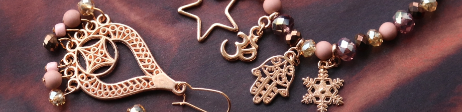 New DQ metal jewellery findings and charms
