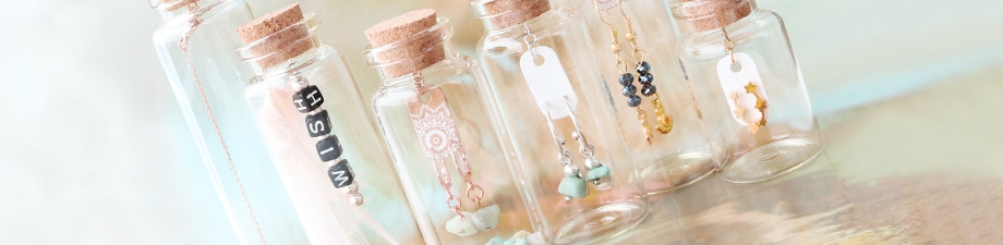 New wish bottles, shoppers and make-up bags!