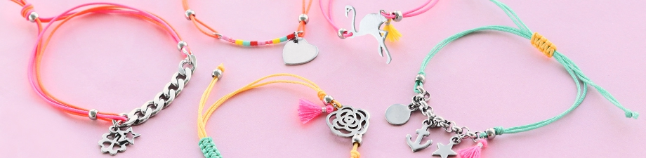 Wow! 50 new stainless steel charms