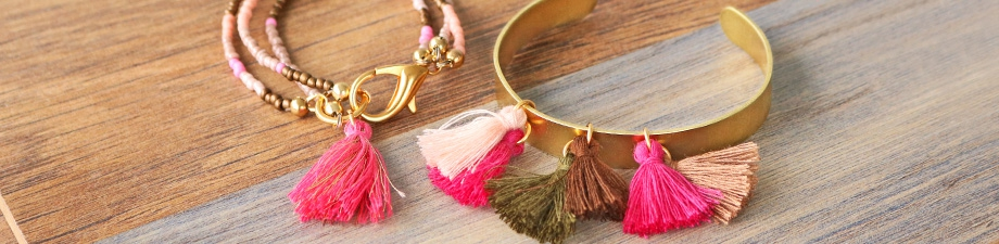New basic tassels in 90+ colours!