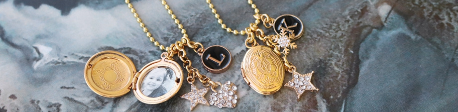 NEW: medallion charms and more!