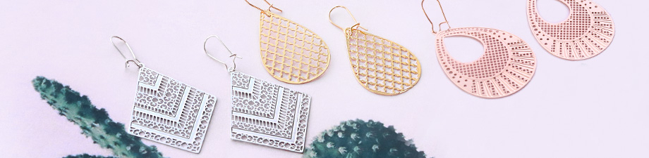 New! Trendy bohemian pendants