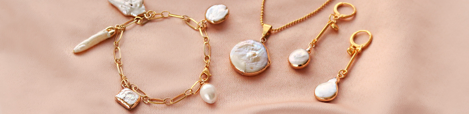 New collection of freshwater pearls  charms and connectors