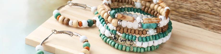 New collection of wooden beads!