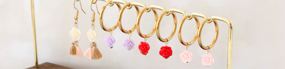 New collection of rose beads!