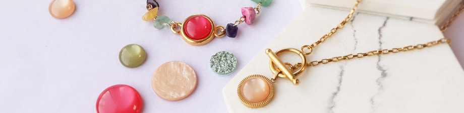 A new collection full of beautiful Polaris Elements cabochons