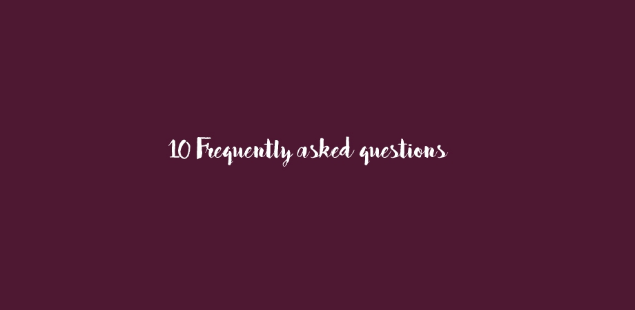 10 Frequently asked questions afbeelding