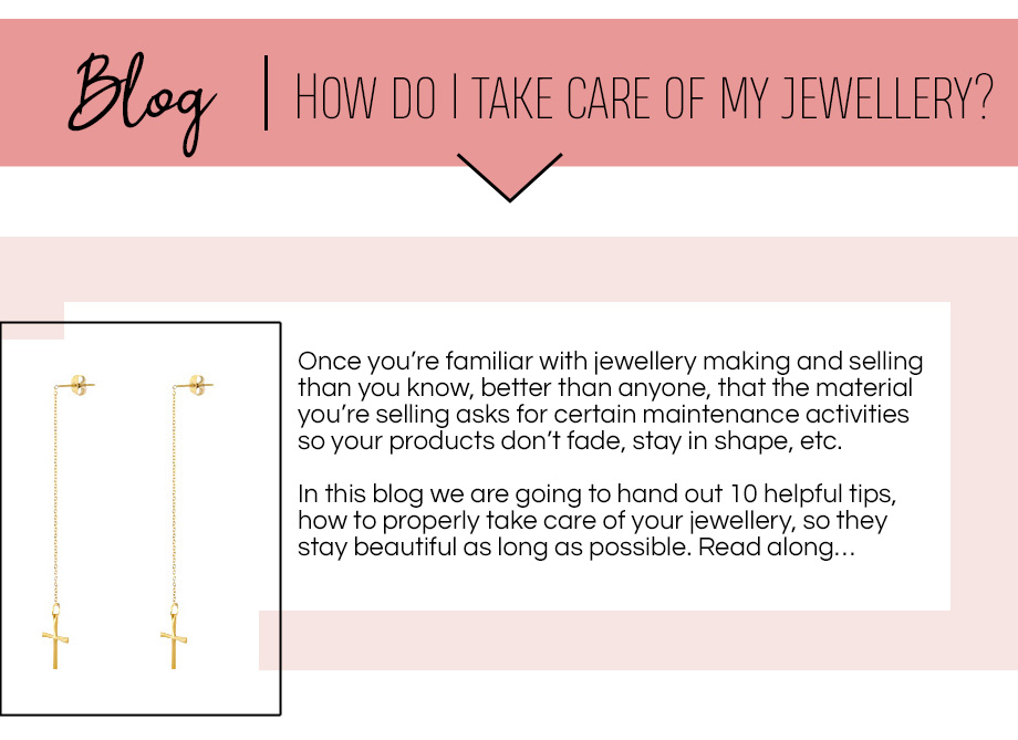How do I take care of my jewellery? afbeelding